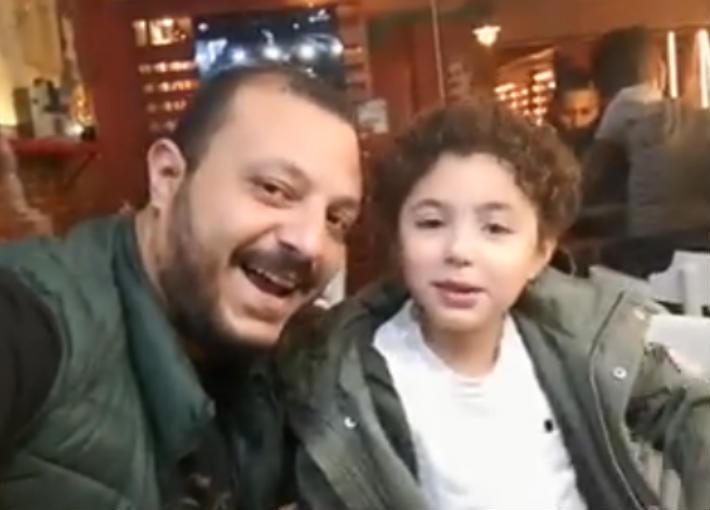 ياسين ابن الفنانة الراحلة غنوة