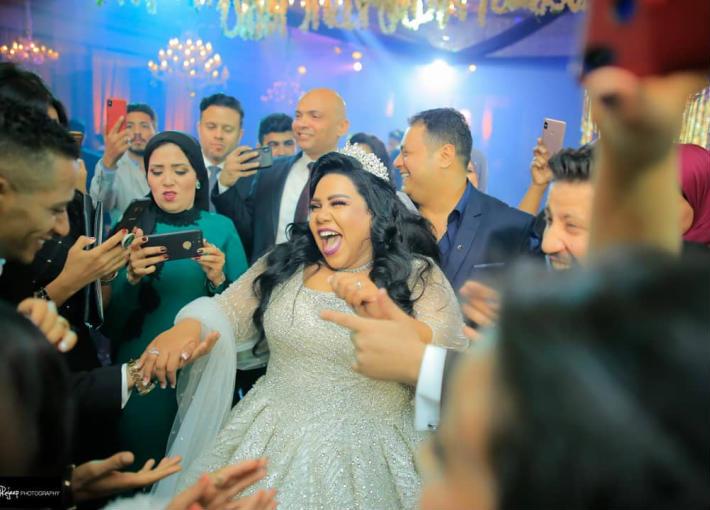 شيماء سيف في حفل زفافها
