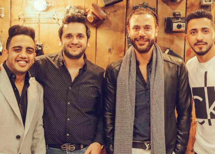 محمد إمام مع خاطر وأوس أوس
