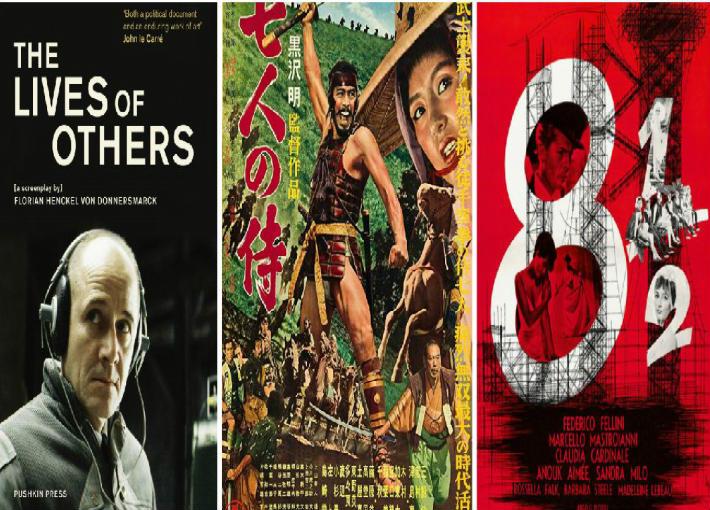 أهم 100 فيلم غير ناطق بالإنجليزية