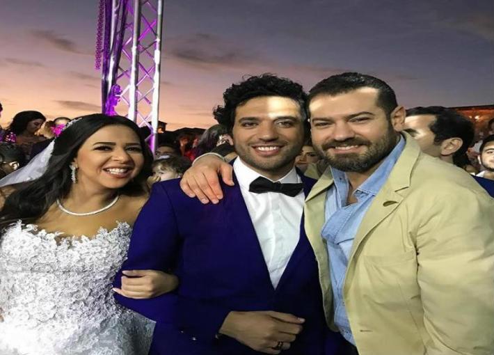 عمرو يوسف وحسن الرداد وإيمي
