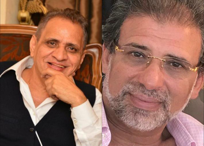خالد يوسف وأحمد السبكي