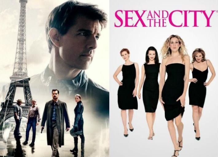 مسلسل Sex and The City ومسلسل Mission Impossible