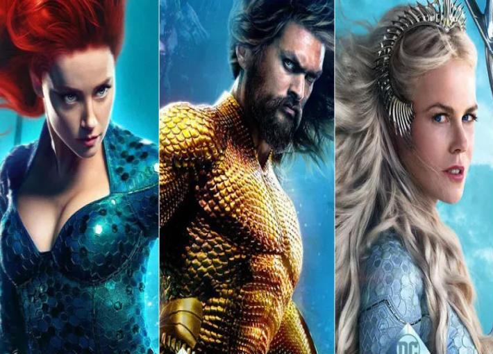 أبطال فيلم Aquaman