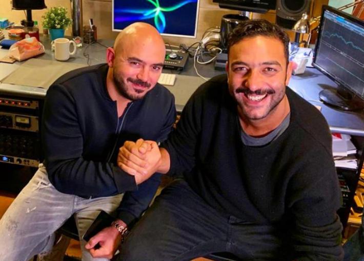 دويتو غنائي يجمع محمود العسيلي وأحمد حسام