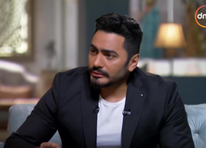 بالفيديو - تامر حسني يعلن عن موعد طرح فيلم