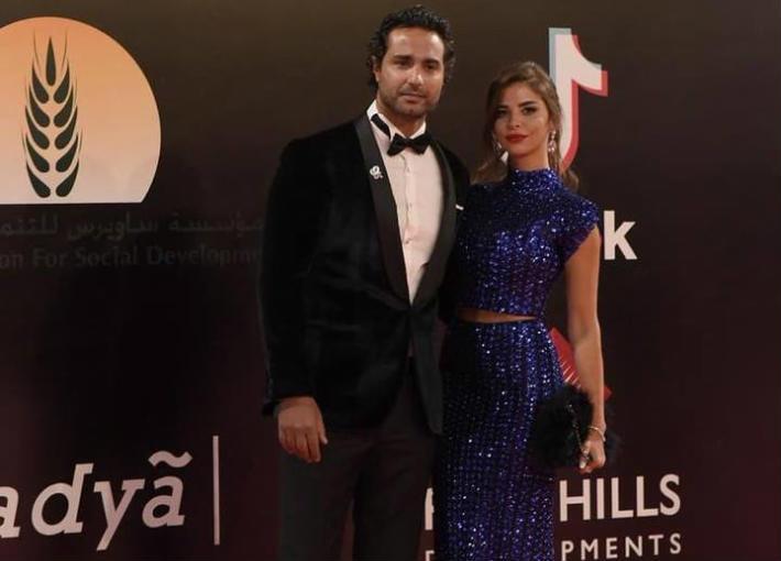 كريم وزوجته