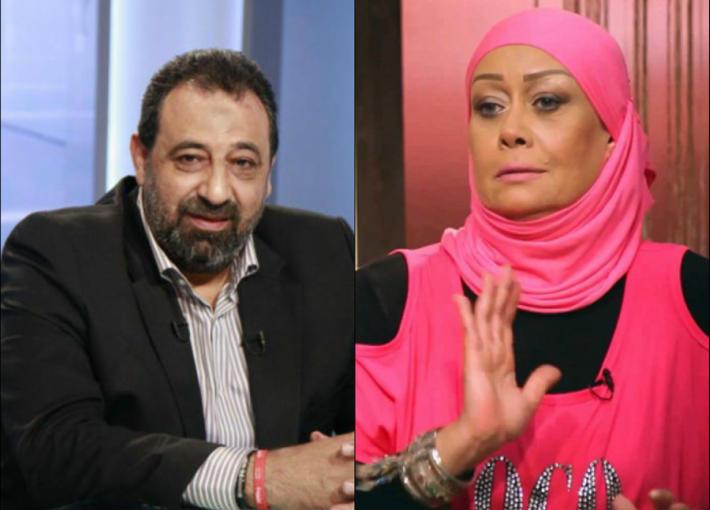 هالة فاخر ومجدي عبد الغني