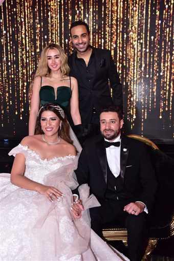 زفاف ابنة صلاح عبد الله