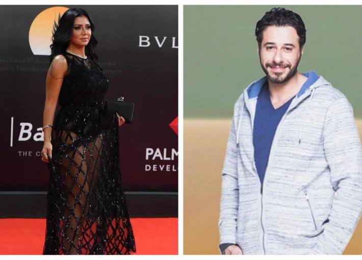 أحمد السعدني ورانيا يوسف
