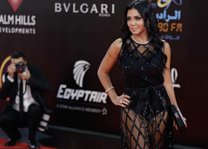 رانيا يوسف في ختام مهرجان القاهرة السينمائي