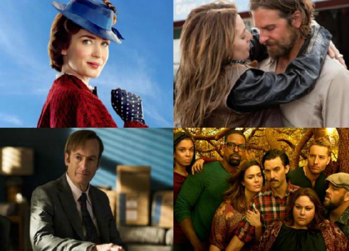 أفضل أفلام ومسلسلات عام 2018