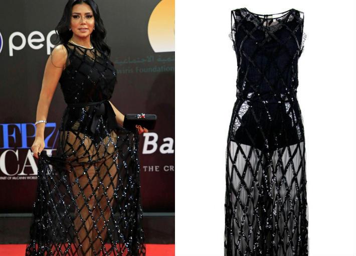 اعرف سعر فستان رانيا يوسف في ختام القاهرة السينمائي