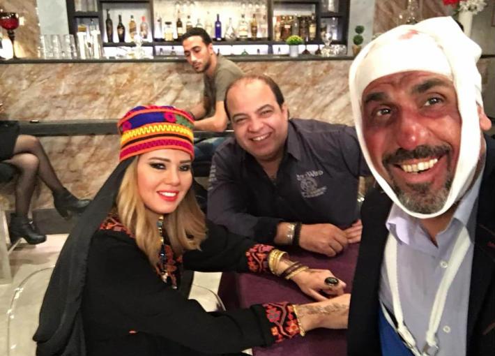 """رانيا فريد شوقي في مشهد من مسلسل """"أيام العسل"""""""