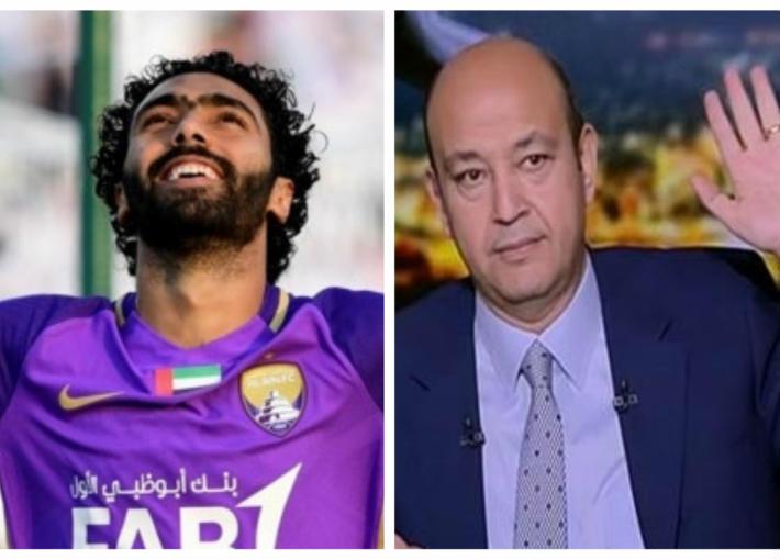 عمرو أديب وحسين الشحات