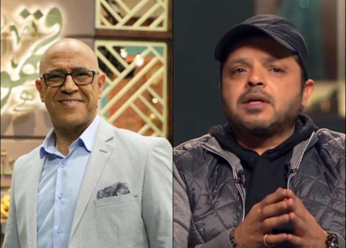 محمد هنيدي وأشرف عبد الباقي