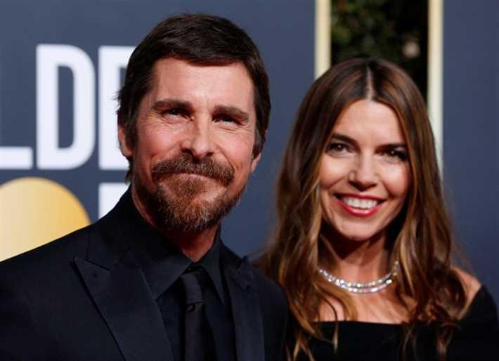 كريستيان بيل وزوجته