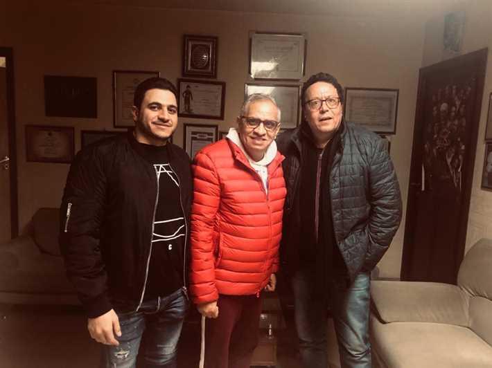 المخرج محمد ياسين والمنتج أحمد السبكي والمخرج كريم السبكي