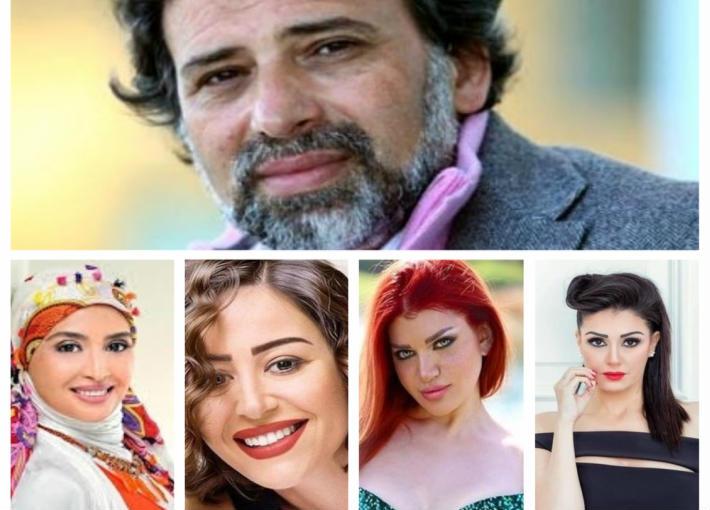 خالد يوسف وغادة عبد الرازق وياسمين الخطيب وحنان ترك ومنة شلبي