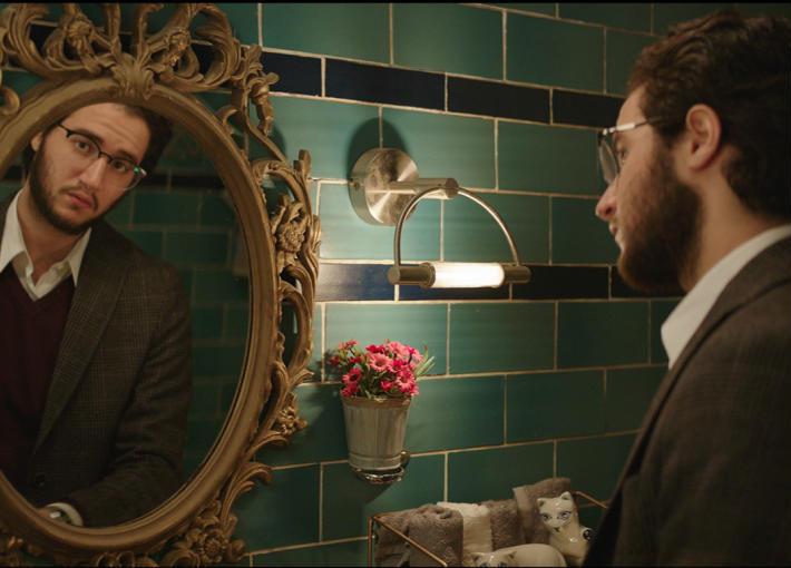 أحمد مالك في فيلم الضيف