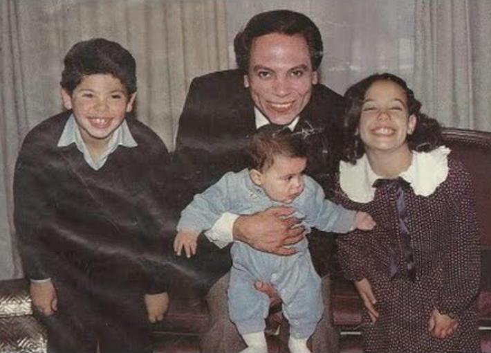 عادل إمام وأولاده