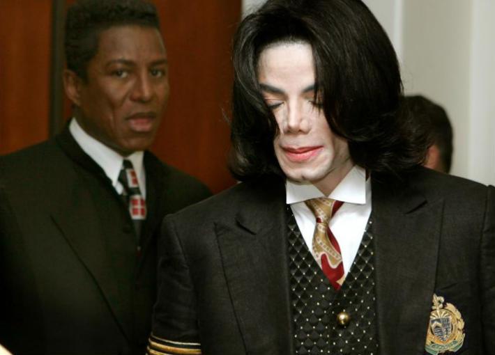 مايكل جاكسون وشقيقه