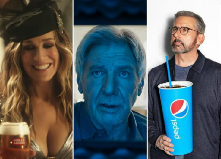 المشاهير في اعلانات سوبر بول