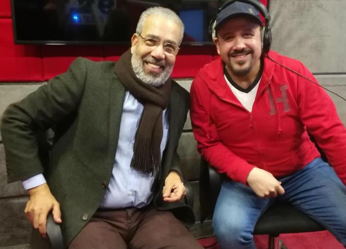 مدحت العدل وهشام عباس