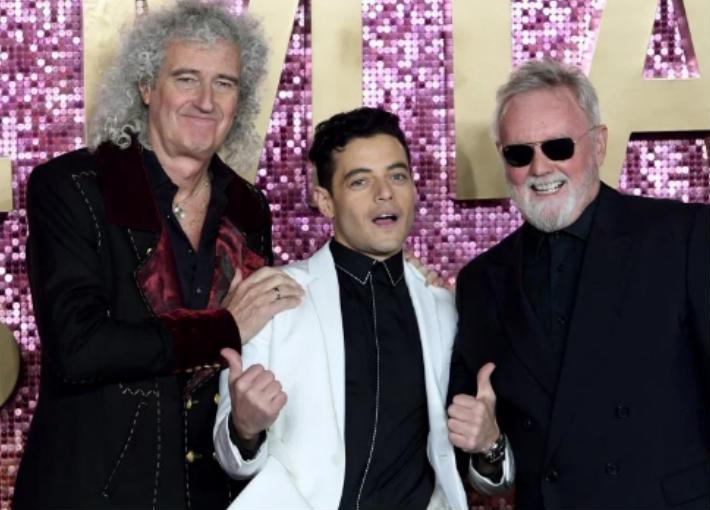 فرقة Queen مع رامي مالك