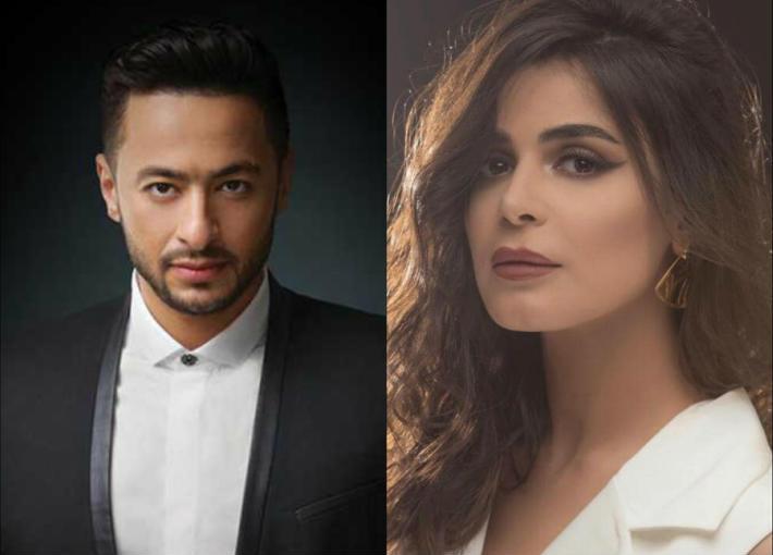 رانيا منصور وحمادة هلال
