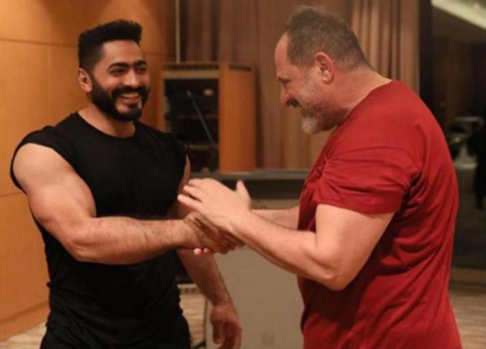 خالد الصاوي وتامر حسني
