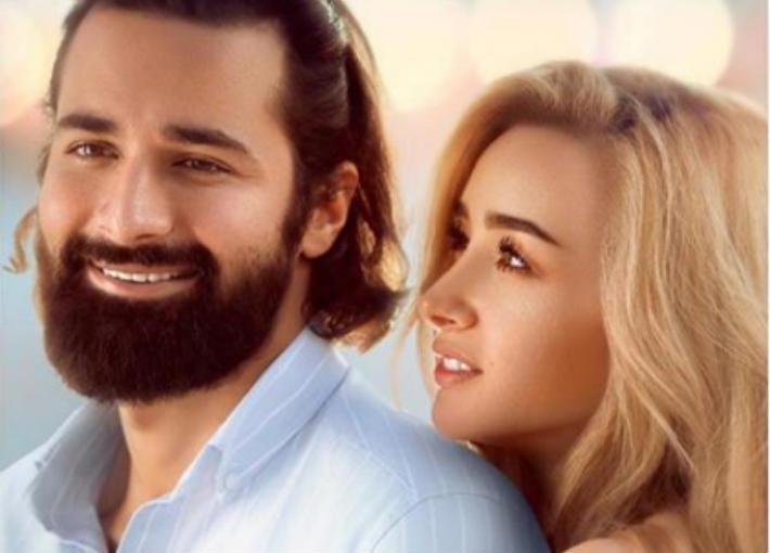 """هنا الزاهد وأحمد حاتم من فيلم """"قصة حب"""""""