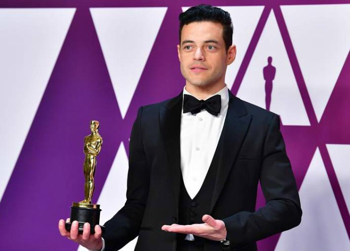 رامي مالك فائزا بأوسكار أفضل ممثل