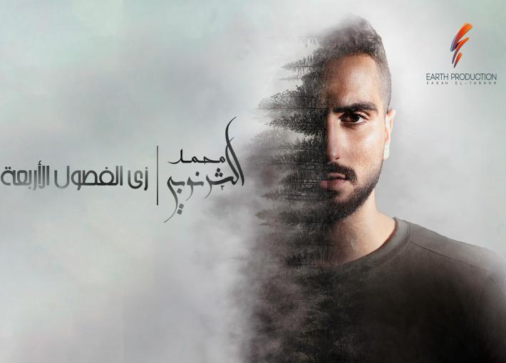 """غلاف ألبوم محمد الشرنوبي """"زي الفصول الأربعة"""""""