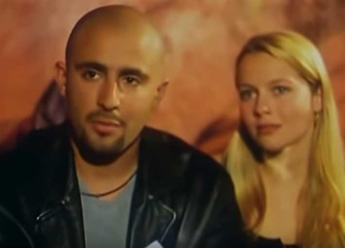 أحمد السقا والممثلة الهولاندية أسترليندرتس
