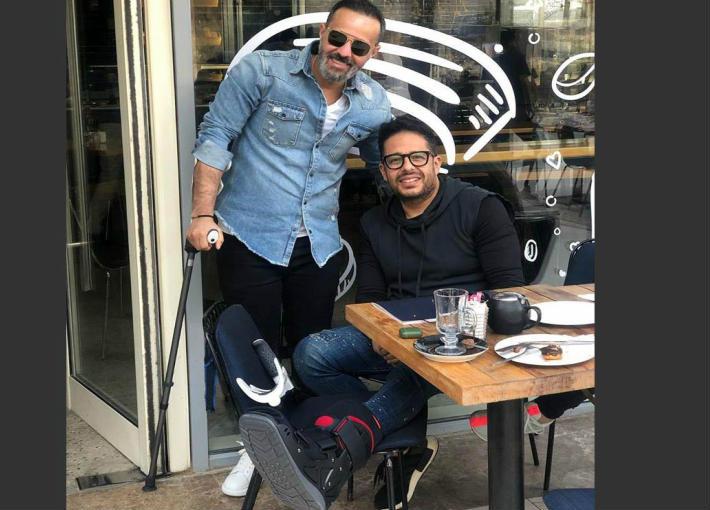 محمد حماقي وحمدي بدر