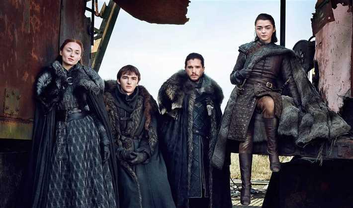 أبطال Game of Thrones