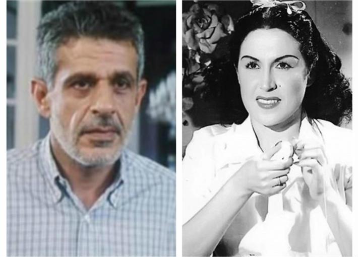 ليلى مراد وزكي فطين عبد الوهاب
