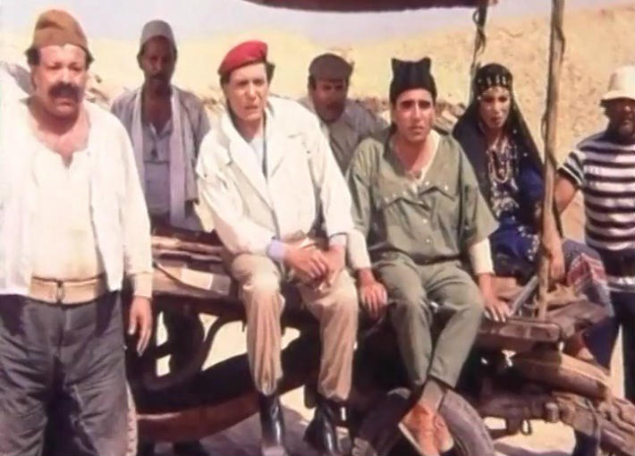 """عادل إمام ومحمود الجندي من فيلم """"شمس الزناتي"""""""