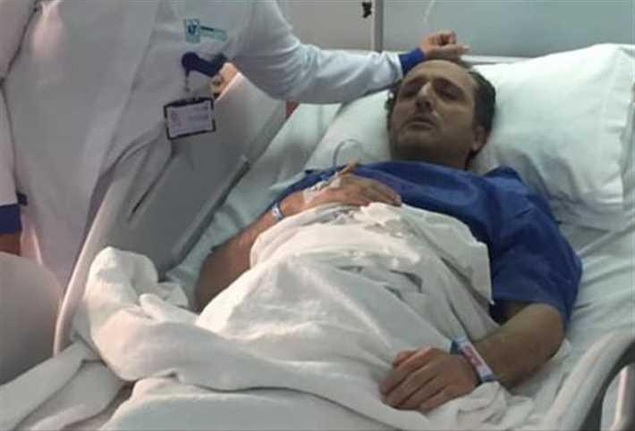 شريف مدكور في المستشفى