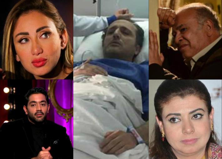 صلاح عبد الله وشريف مدكور وريهام سعيد ونشوى مصطفى وأحمد فلوكس