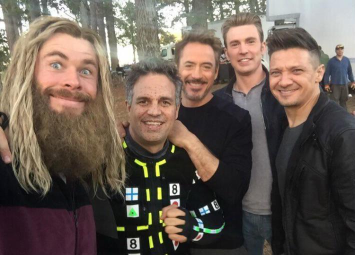 أبطال Avengers: Endgame