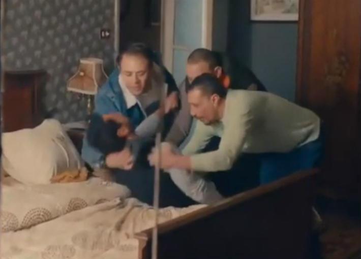 """مشهد من الحلقة الثالة من """"أبو جبل"""""""