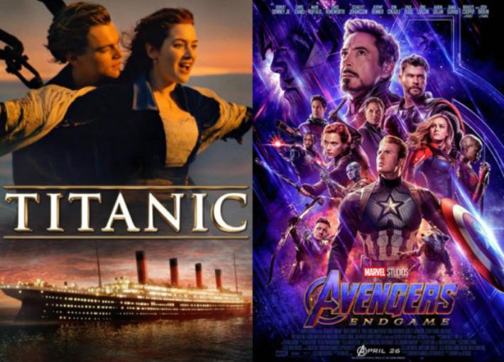 Avengers وTitanic