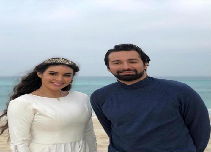 أحمد حاتم وياسمين صبري