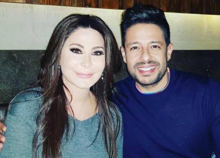 محمد حماقي وإليسا