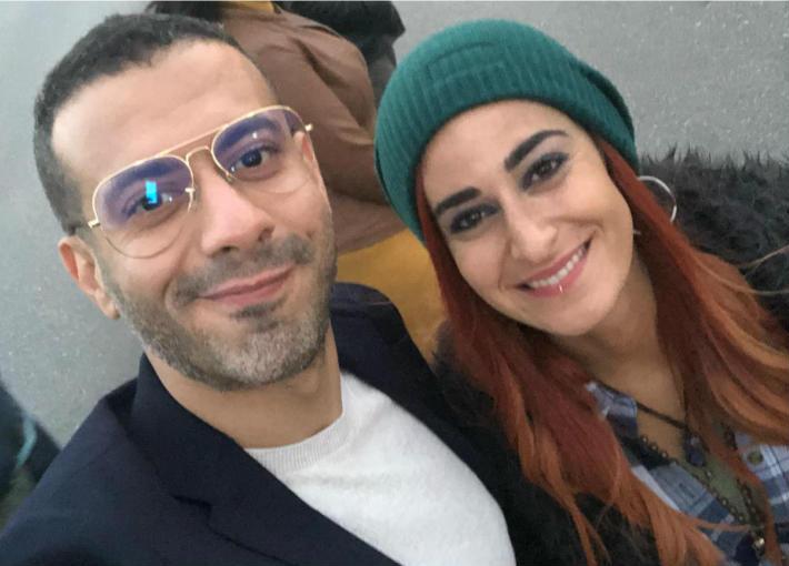 أمينة خليل ومحمد فراج