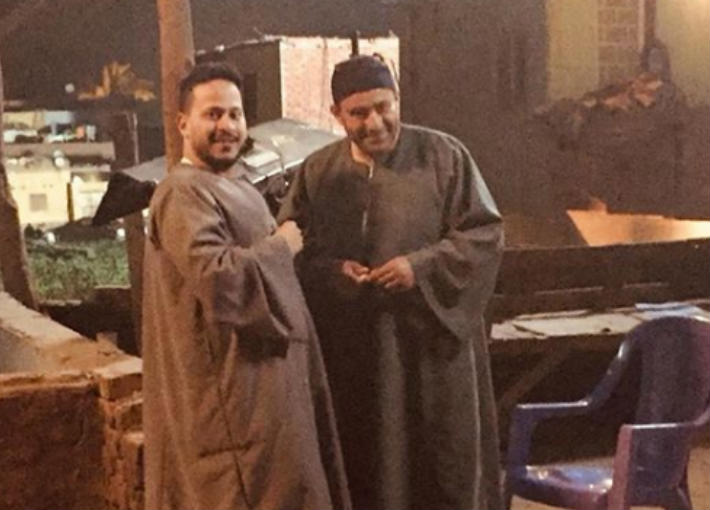 أحمد السقا وكريم عفيفي