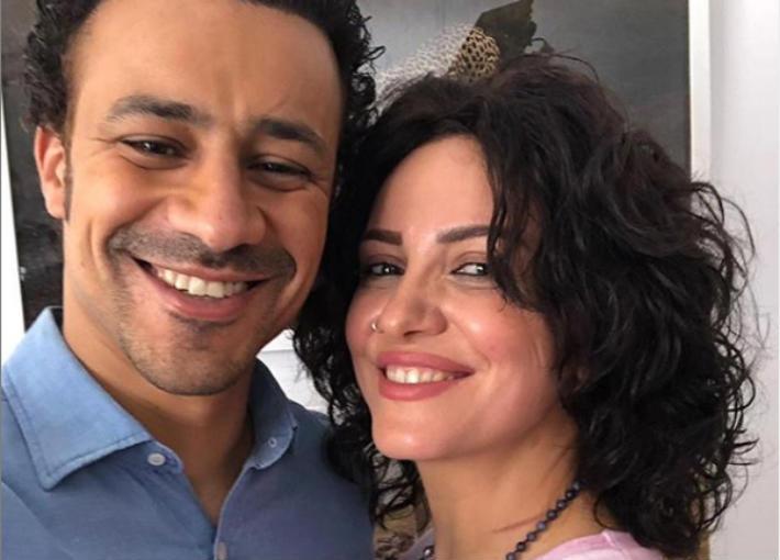 ريهام عبد الغفور وأحمد داود