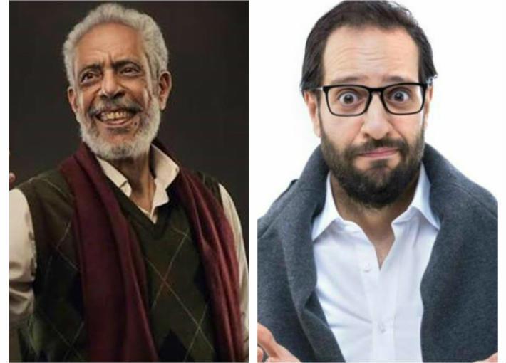 أحمد أمين ونبيل الحلفاوي